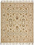 Stone & Beam Lottie Traditional Wool Area Rug, 8′ x 10′, Beige Review