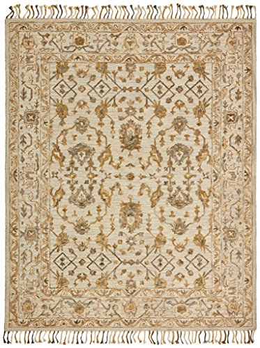 Amazon Com Stone Amp Beam Lottie Traditional Wool Area Rug