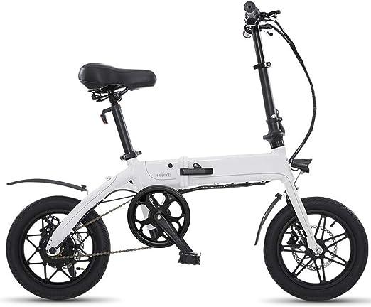 XMIMI Tipo Plegable Conducción Bicicleta eléctrica Hombres y ...