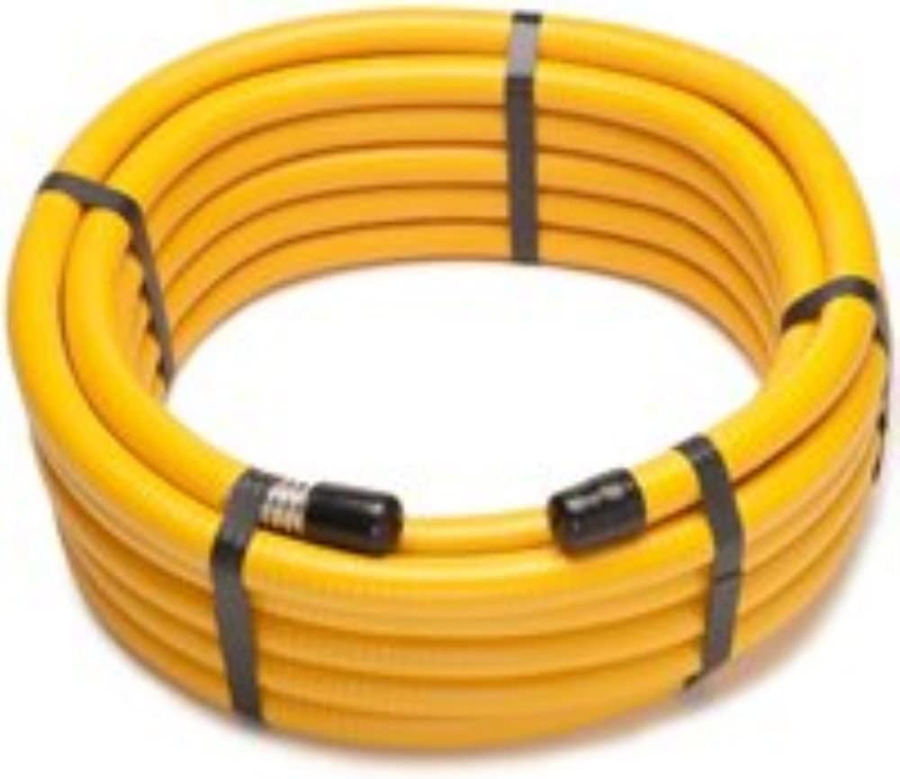 Gas Flex 3//4 GAS Tubing Pipe KIT 33 Ft with 2 Fittings GasFlex Natural GAS Propane