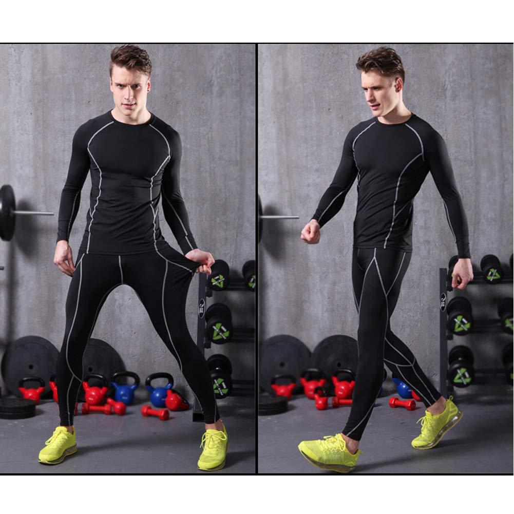 ENQI TRADE Mens Compression Pants Sports Tights Baselayer Leggings Cool Dry