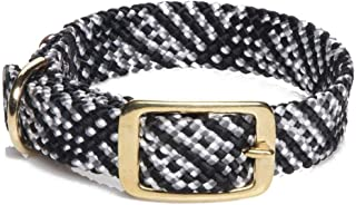 product image for Mendota Pet Double Braid Collar - Brass - Dog Collar - Made in The USA