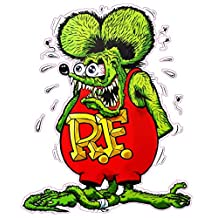 Rat Fink Version 2 Large Decal 11""
