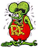 "Rat Fink Version 2 Decal 5.5"" X 4"" Free Shipping from the United States"