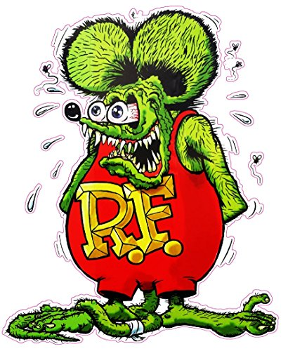 Nostalgia Decals Rat Fink Version 2 Decal from The United States (3