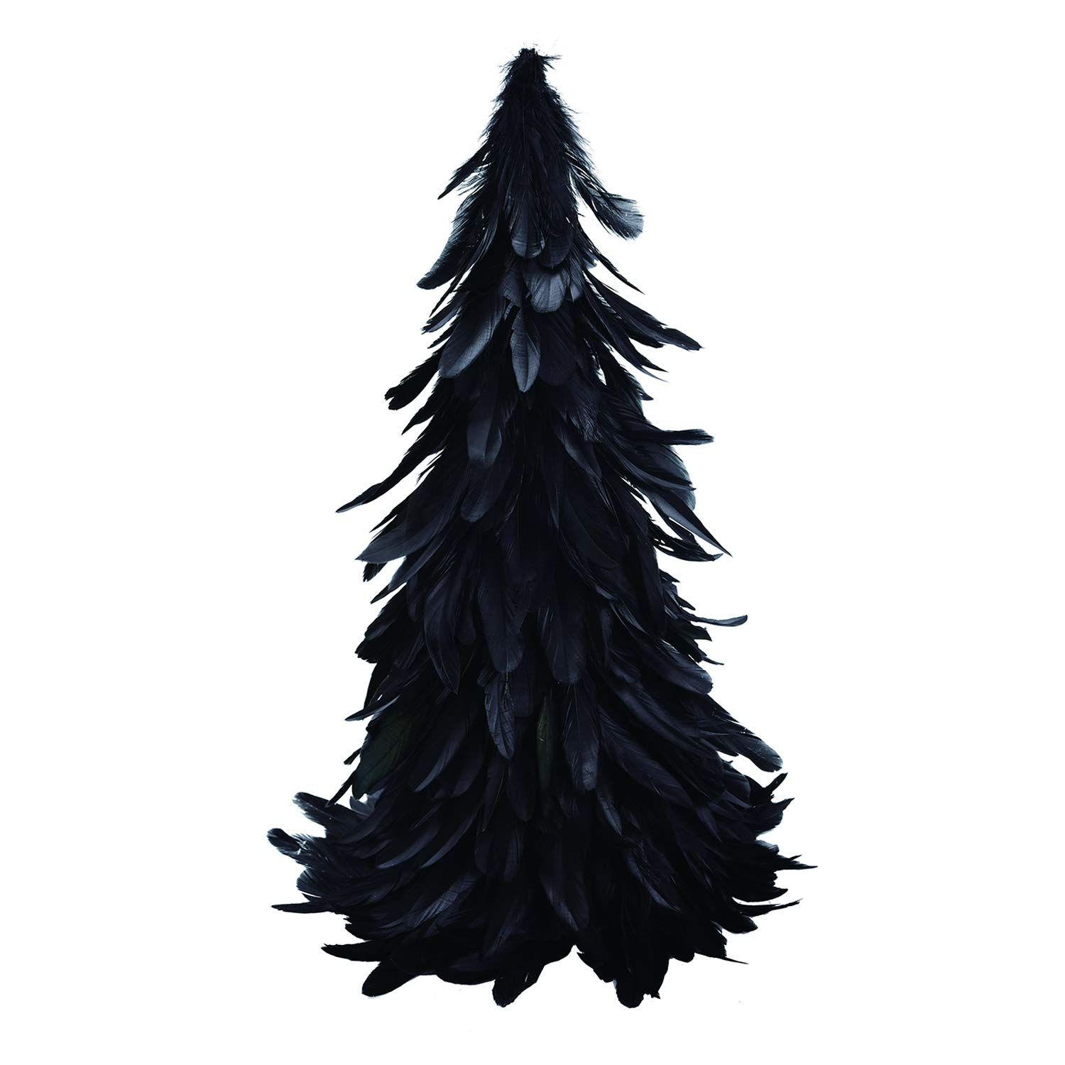 Amazon.com One Holiday Way Spooky Gothic Black Feather Tree