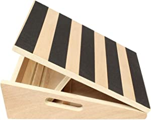 Get Out! Calf Stretcher Slant Board for Stretching – Incline Board Calf Stretch Wedge Board, Calf Stretching Board