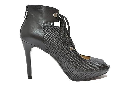 NERO GIARDINI Decollete' spuntata nero 7372 scarpe donna elegante mod. P717372DE