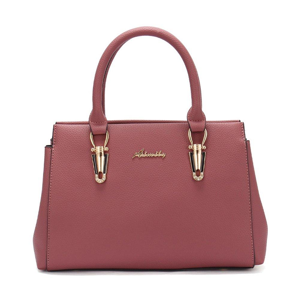 Cormodi Womens Leather Handbags Top Handle Bags Satchel