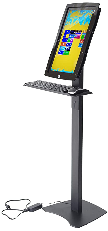 Amazon com: Padholdr IFIT XPS 18 Kiosk Stand with Tray