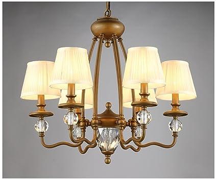 Jcrnjsb® lampadari di cristallo bronzo ferro branch tipo di