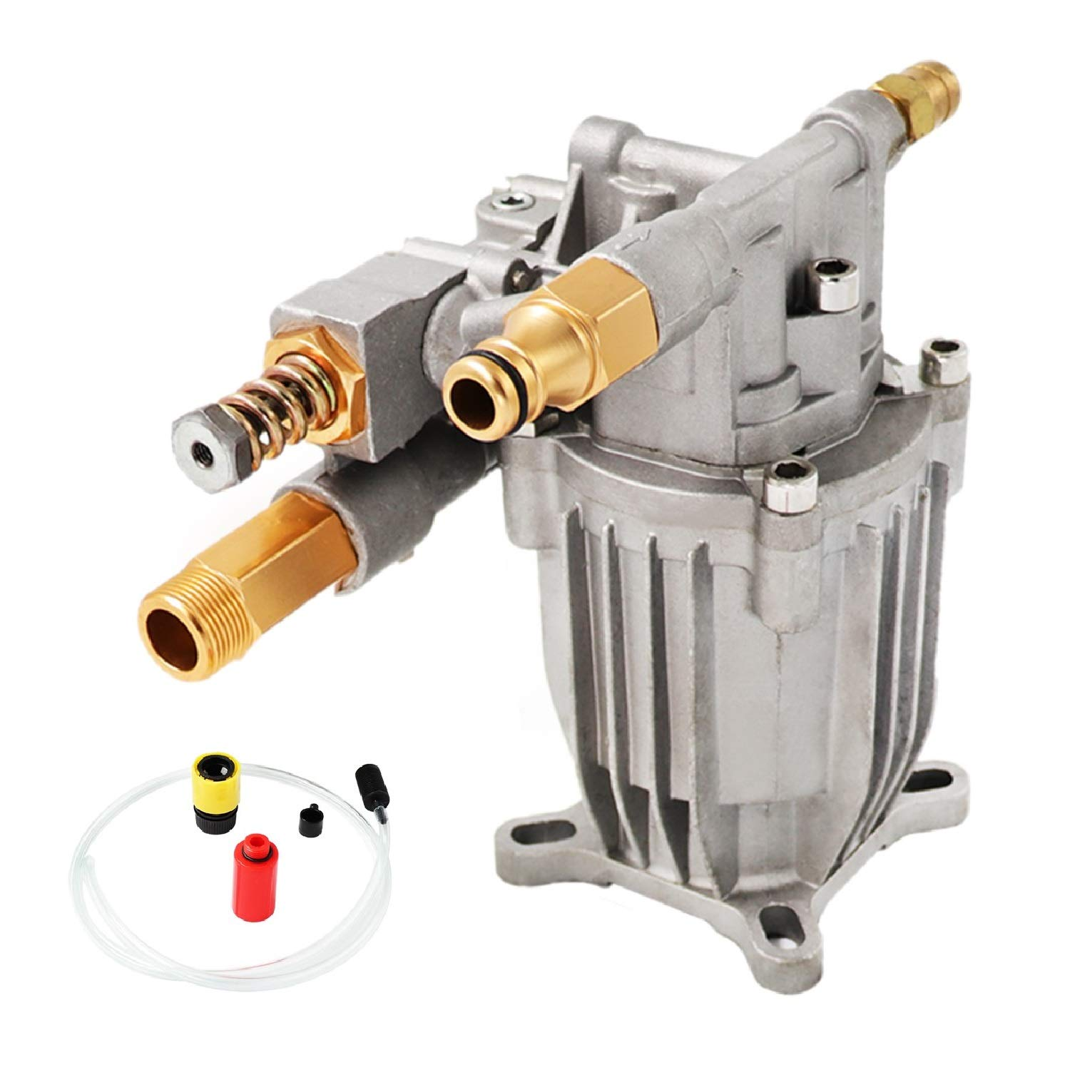EDOU Gas Pressure Washer Pump Replacement 3/4'' Diameter Shaft Plunger Vertical Pump Axial Horizontal Pump Easy Start,2500 PSI,2.3 GPM by EDOU