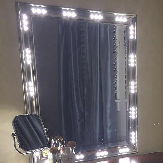 BEST LED LIGHTS FOR MAKE-UP VANITY MIRROR-60 LEDS 9FT DIY LIGHT KITS WITH POWER SUPPLY UL SAFE CERTIFICATED