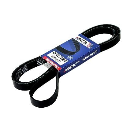 Amazon Com Moca 6pk2225 Quality Serpentine Belt For 1990 2007