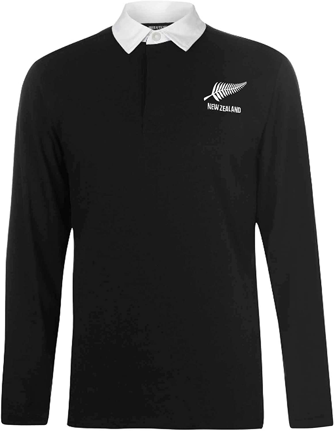 New Zealand Camiseta de Rugby de Manga Larga para Adultos Zelanda ...