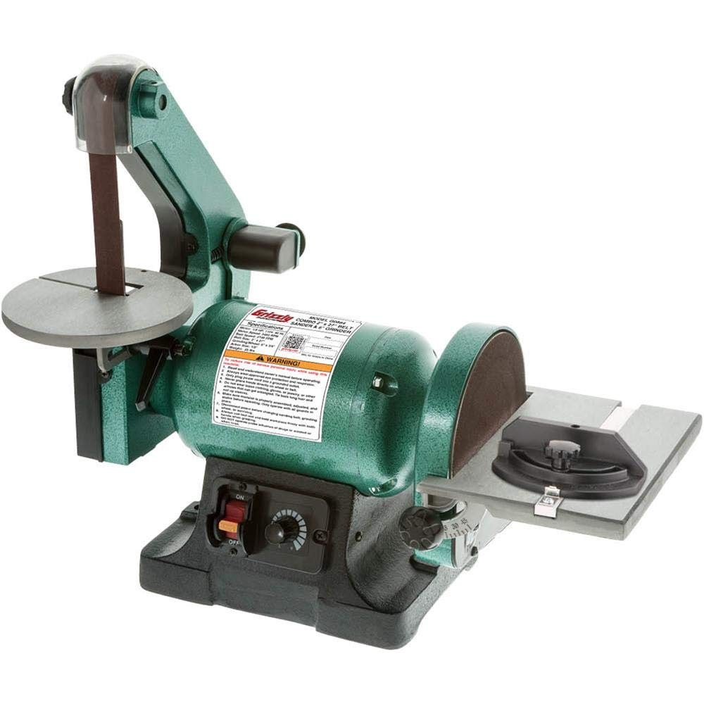 Grizzly Industrial G0864 - Variable-Speed 1'' x 30'' Belt/ 6'' Disc Sander by Grizzly Industrial