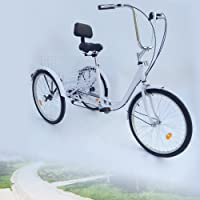 Z&Y 3–Triciclo para Adultos 24Adultos Triciclo 6Marchas Bicicleta 2Color
