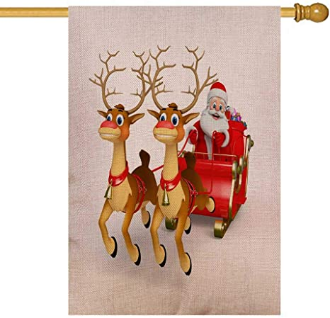 Santa And His Sleigh Outdoor Decorations  from images-na.ssl-images-amazon.com