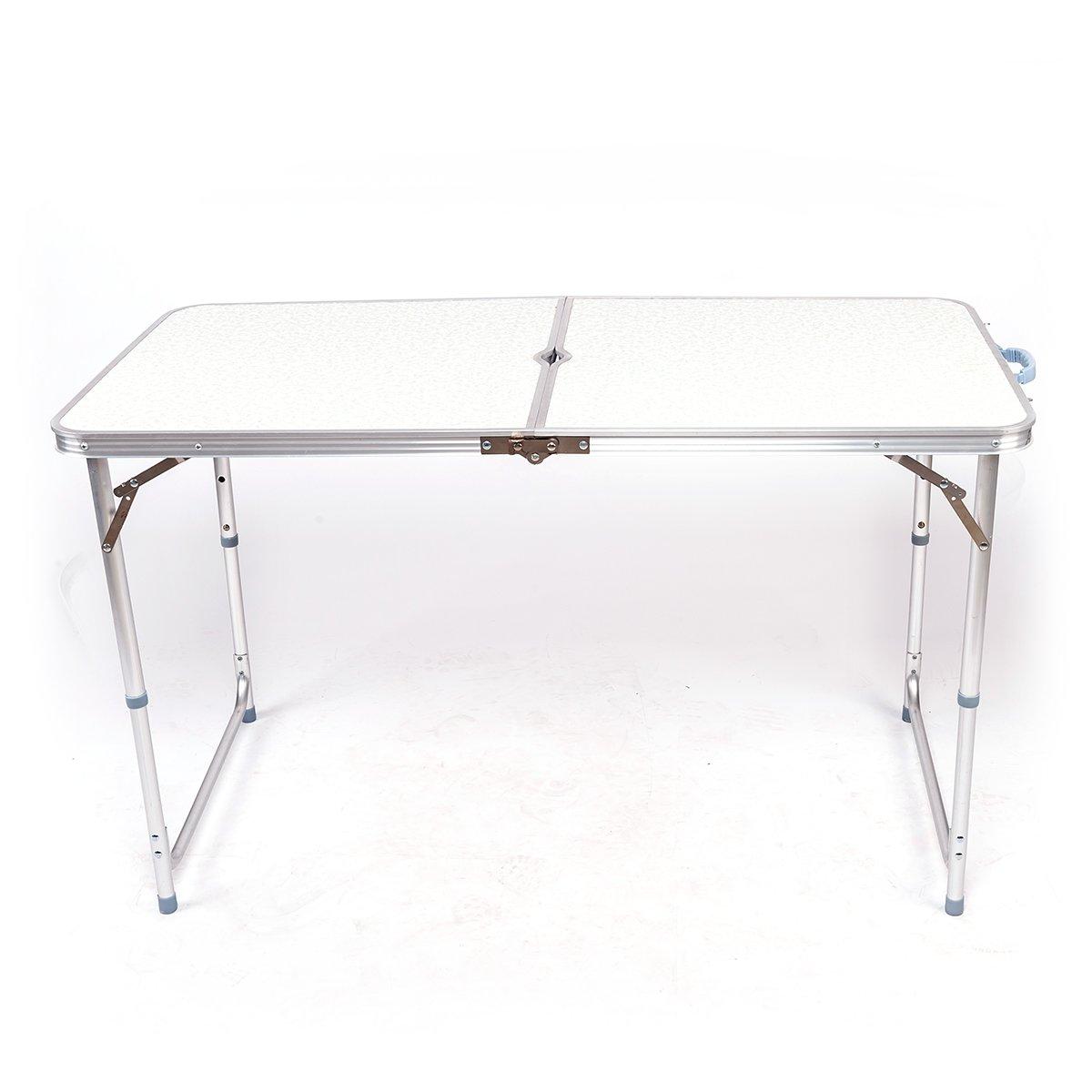 Dxp Tapisser Table Réglable 100x60x73808794Cm Hauteur Aluminium À Pliantes Camping En Portable De Multiusage wPkuOXiTZ