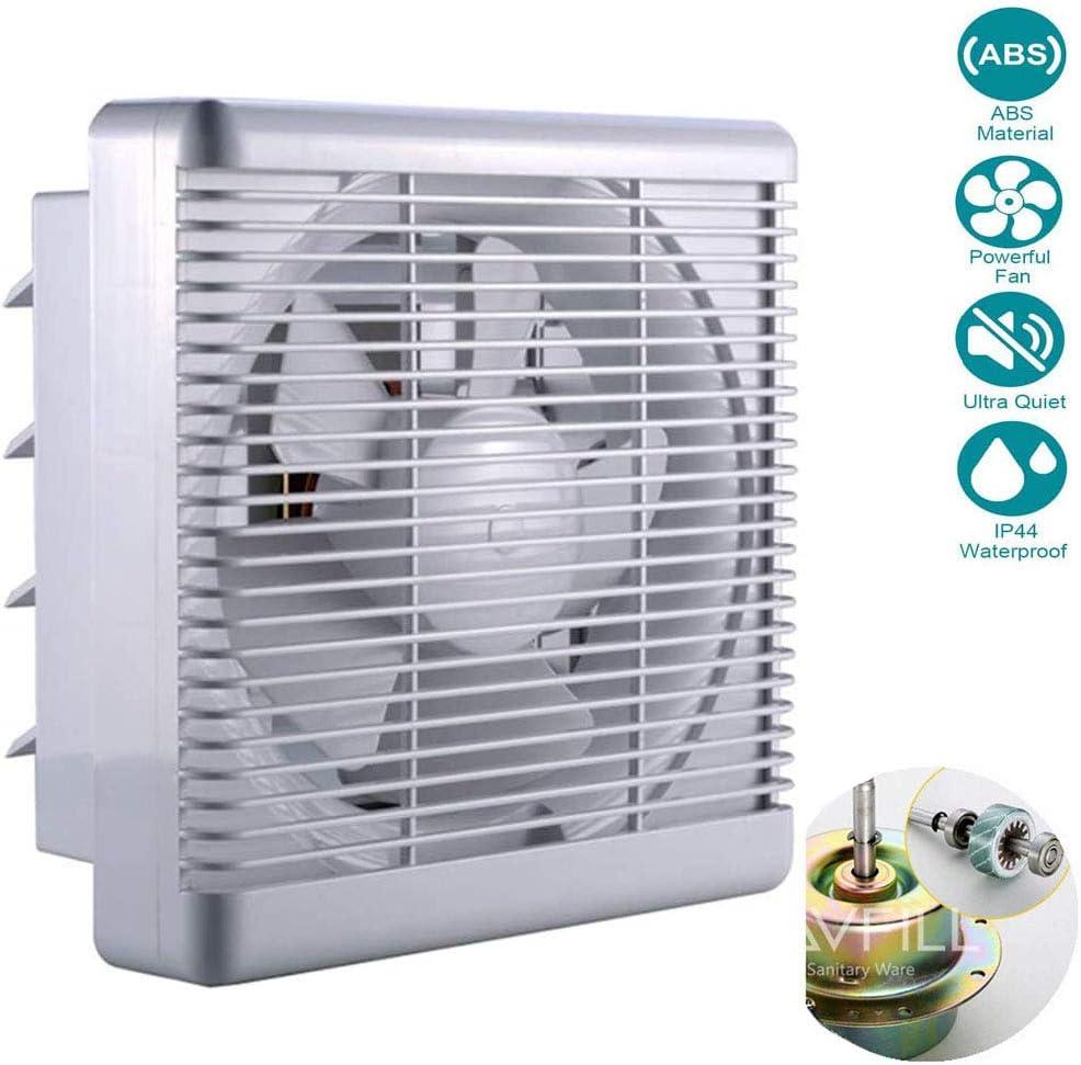 YUN Clock@ 11.5''/295 mm Ventilador Extractor de Aire Silencioso 800m³ / h para Oficina, Baño, Dormitorio,35W
