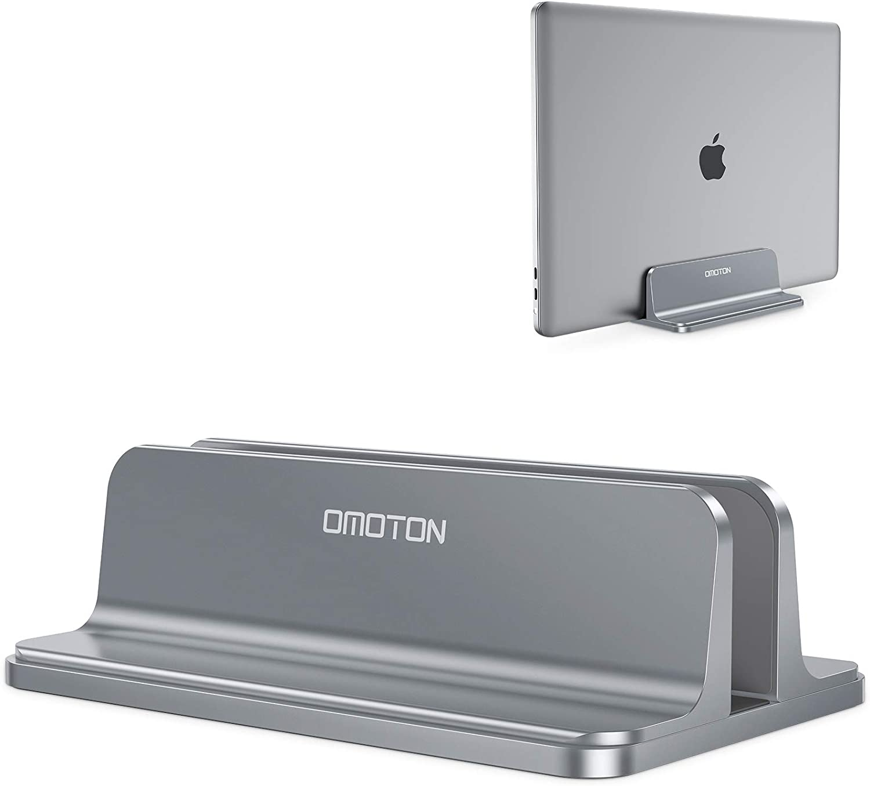 Omoton Space Saving Laptop Stand Vertical Aluminium Computers Accessories