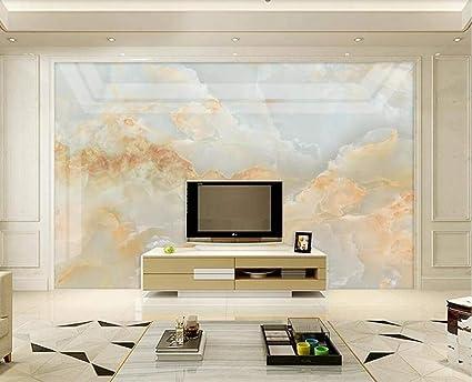 Mbwlkj 3d Marble Wallpaper Mural For Living Room Bedroom