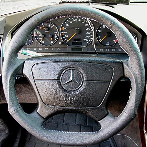 Mercedes W140 DTM Sport Steering Wheel Leather BLACK, used for sale  Delivered anywhere in USA