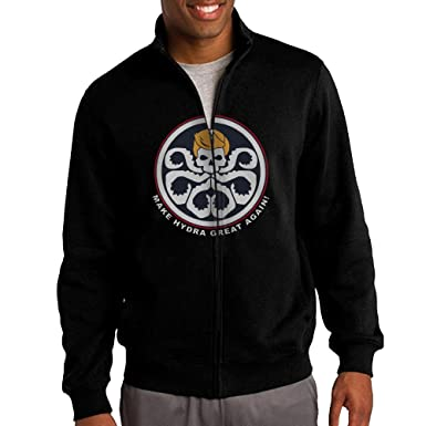 629bb7ad5bc8b Image Unavailable. Image not available for. Color  Men s Make Hydra Great  Again Donald Trump Zip Up Hoodie Jacket