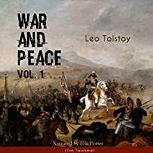 War and Peace 1 Audiobook by Leo Tolstoy Narrated by Ella Porter