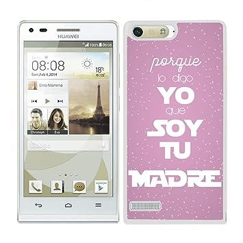 Funda carcasa para Huawei P7 diseño regalo día de la madre
