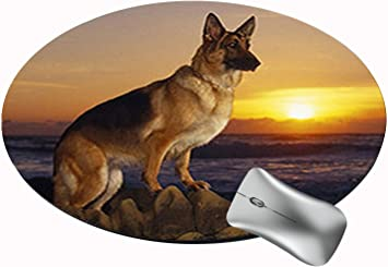 Wolf Moon Sechao Customized Round Office Mouse Pad Non-Slip Rubber Mouse Pads Cute Mat