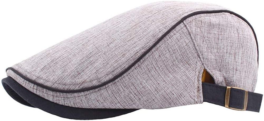 Adjustable Beret Hat Men...