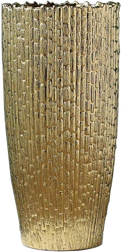 2Pcs Decorative Ceramic Tall Vase Modern Elegant Floor Flower Vase Wedding Decor