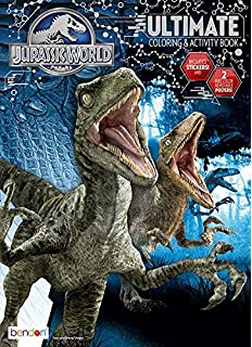 Bendon Jurassic World Ultimate Activity Book Playset