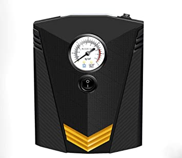 Hycy Bomba De Aire Comprimido, Inflador De Neumáticos Digital DC 12V 120W 150 PSI Bomba