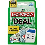 Hasbro B0965 - Monopoly Deal Family Card Game - US Version - Fast Dealing Property Trading