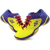 Yonex SHB-03Z Men's Badminton Shoes, Yellow/Blue