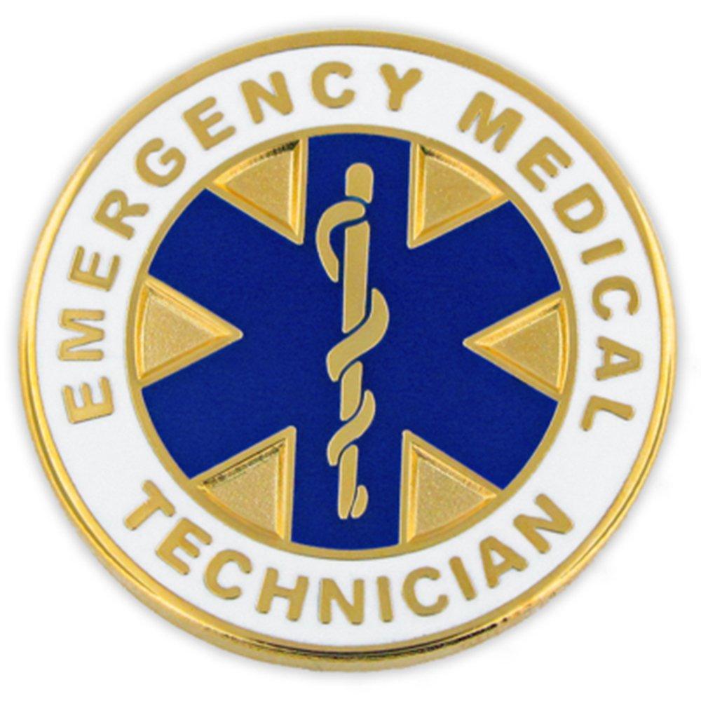 PinMart Emergency Medical Technician EMT Lapel Pin