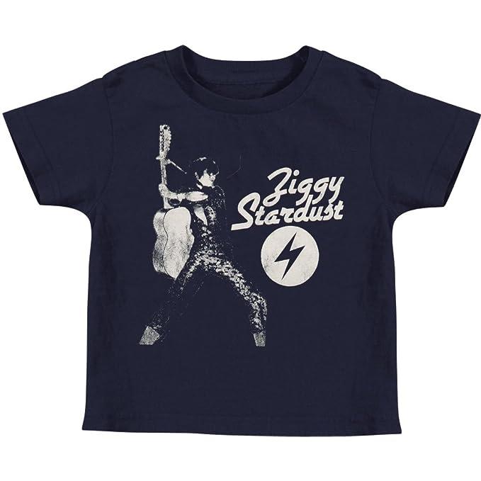 Amazon.com  David Bowie Boys  Ziggy Stardust Childrens T-shirt Blue ... 5c5709d31