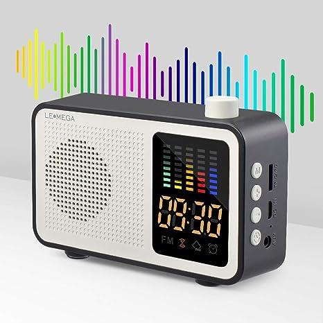 cfc52db7c60 LEMEGA Portable Bluetooth Speaker Mini Wireless Speaker  Amazon.co.uk   Electronics