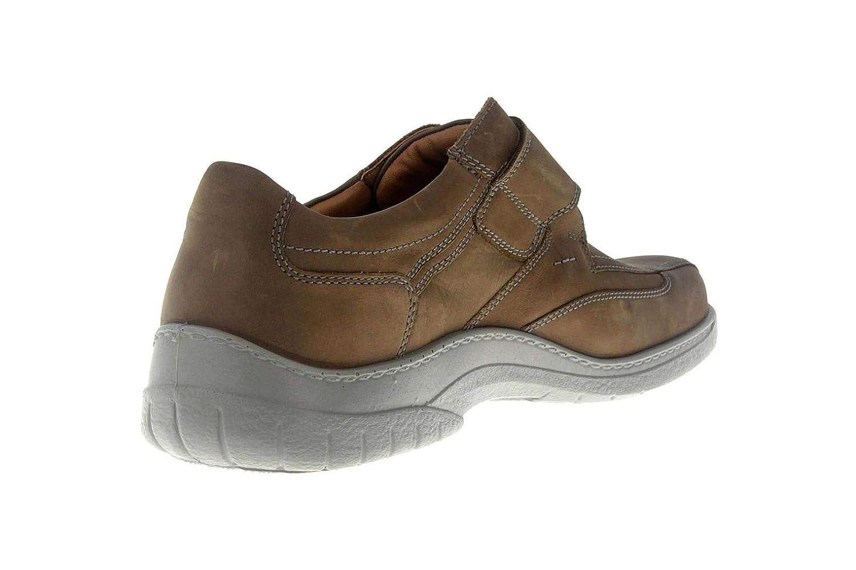d64ac2c27ed427 ... Jomos Herrenschuhe Herrenschuhe Herrenschuhe Slipper Klettverschluss  Artikel 413206 12 280 Malaga Braun Schuhe in Übergrößen bc7897 ...