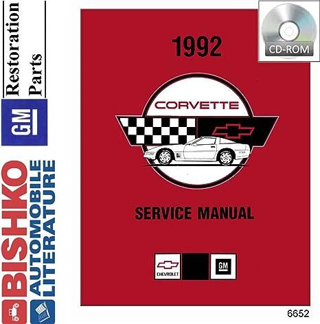 amazon com bishko automotive literature 1992 chevrolet corvette rh amazon com Haynes Automotive Service Manuals Haynes Automotive Service Manuals