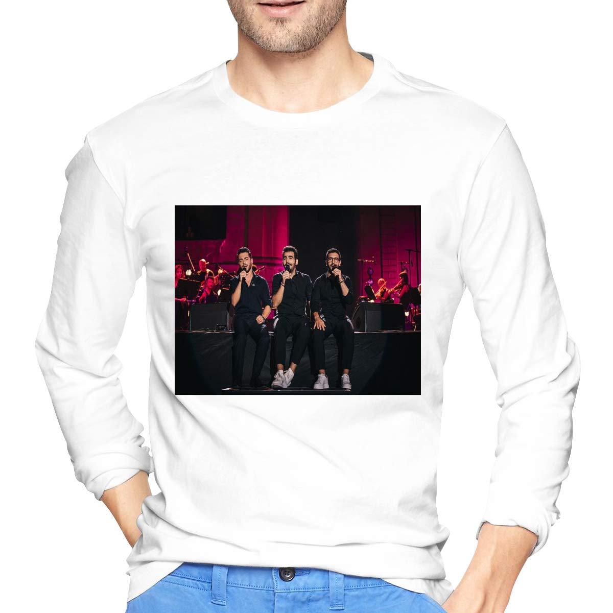 Lihehen Mans Il Volo Retro Printing Round Neck Ts Shirts