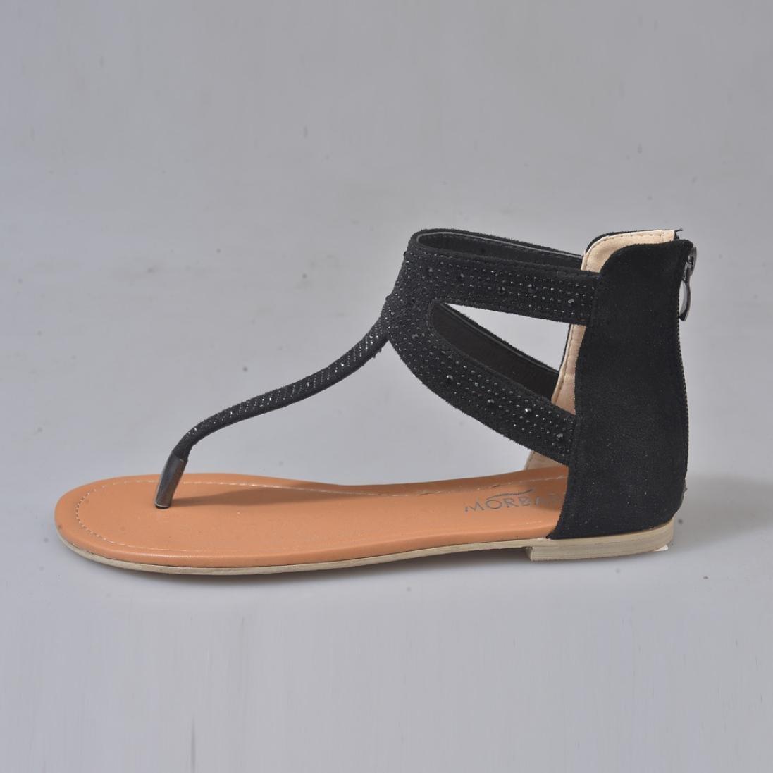 Amazon.com: Han Shi moda sandalias, mujer diamante cierre ...