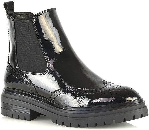 ladies black glamorous Chelsea Women's ankle boot size 3 new
