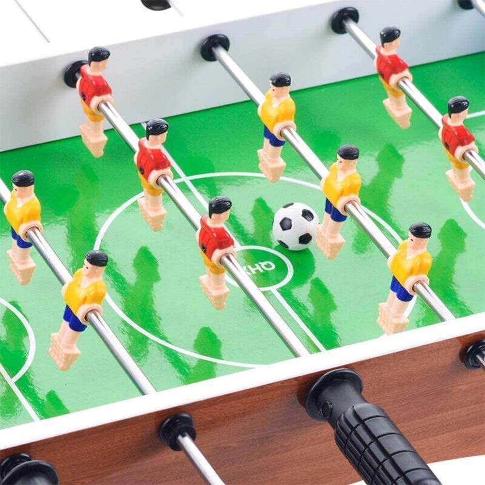 ADHW Participar Futbolín Juego de Mesa de Madera Jugador Sólido Baby Foot Infantil para Niños Fútbolista Deporte Patada de Mesa Mesa de Fútbol Futbolín Juego: Amazon.es: Hogar