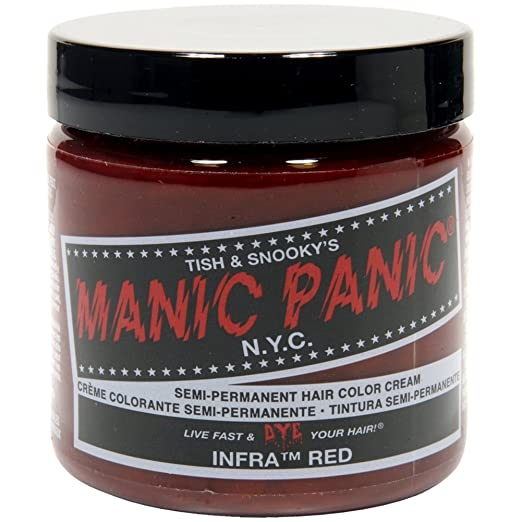best semi-permanent red hair dye for dark hair