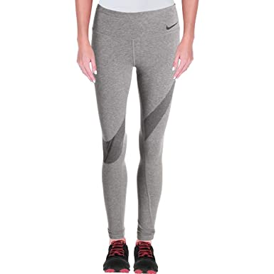 Nike Womens Yoga Fitness Athletic Leggings, Carbon Heather ...