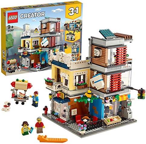 LEGO Creator - Tienda de Mascotas y Cafetería Nuevo set de ...
