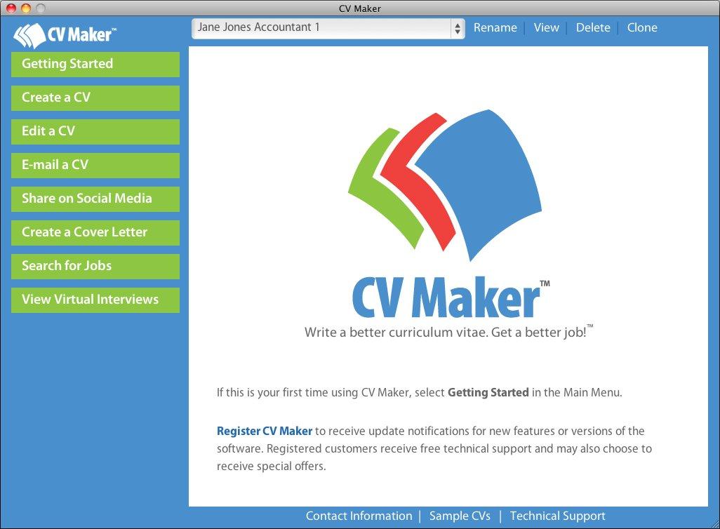 CV Maker for Mac [Mac Download] by Individual Software